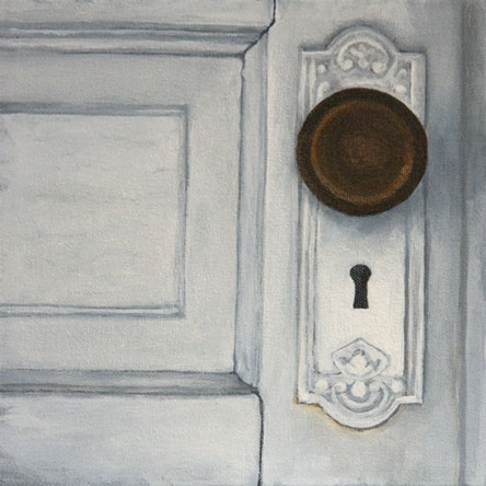 painting, door, sparrow beach lodge, old hotel, michelle hendry