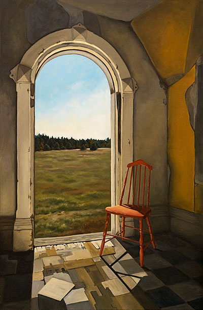 Room With A View Michelle Basic Hendry Fine Artist