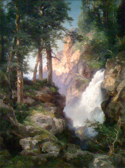 Thomas Moran, Falls at Toltec Gorge