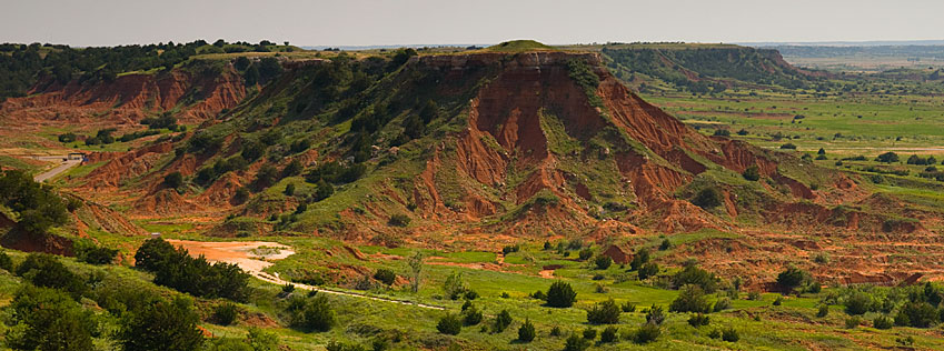 Gloss Mountain Mesas