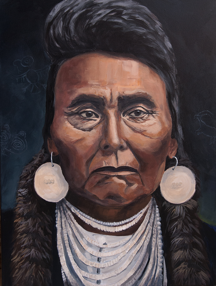 chief joseph, portrait