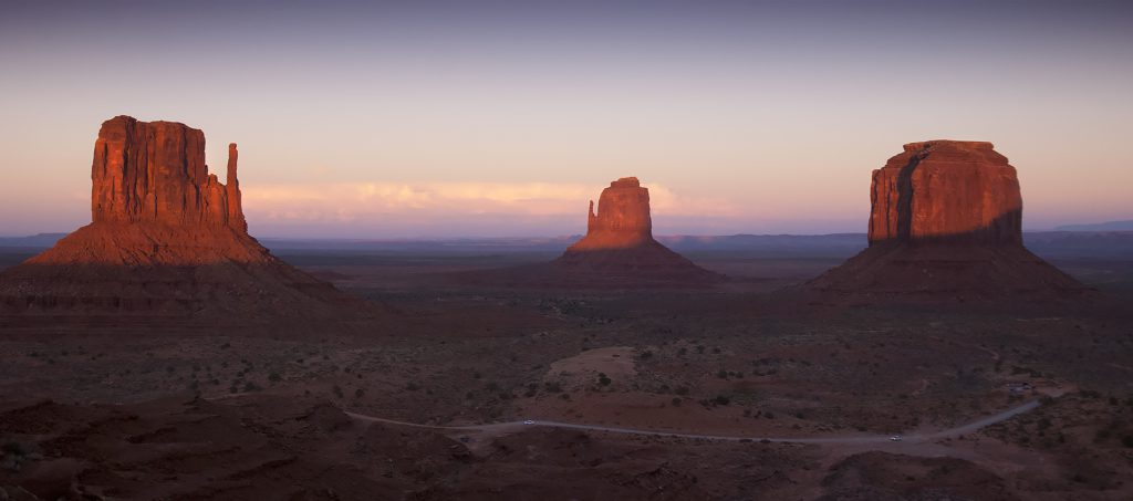 Sunset, Monument Valley, AZ
