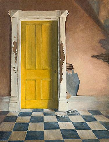 hendry yellow door