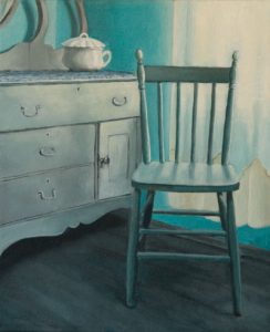 chair, painting