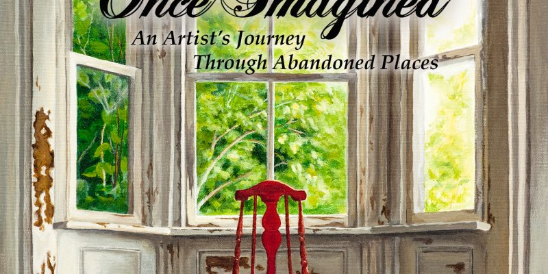 abandoned, book, michelle hendry, paintings